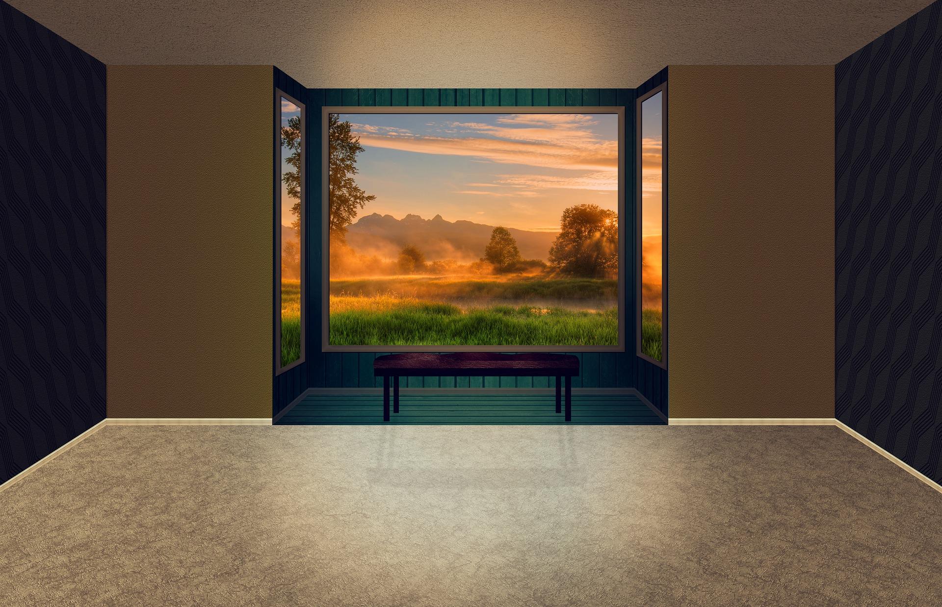 Accentuez la lumière à l'intérieur avec une baie vitrée